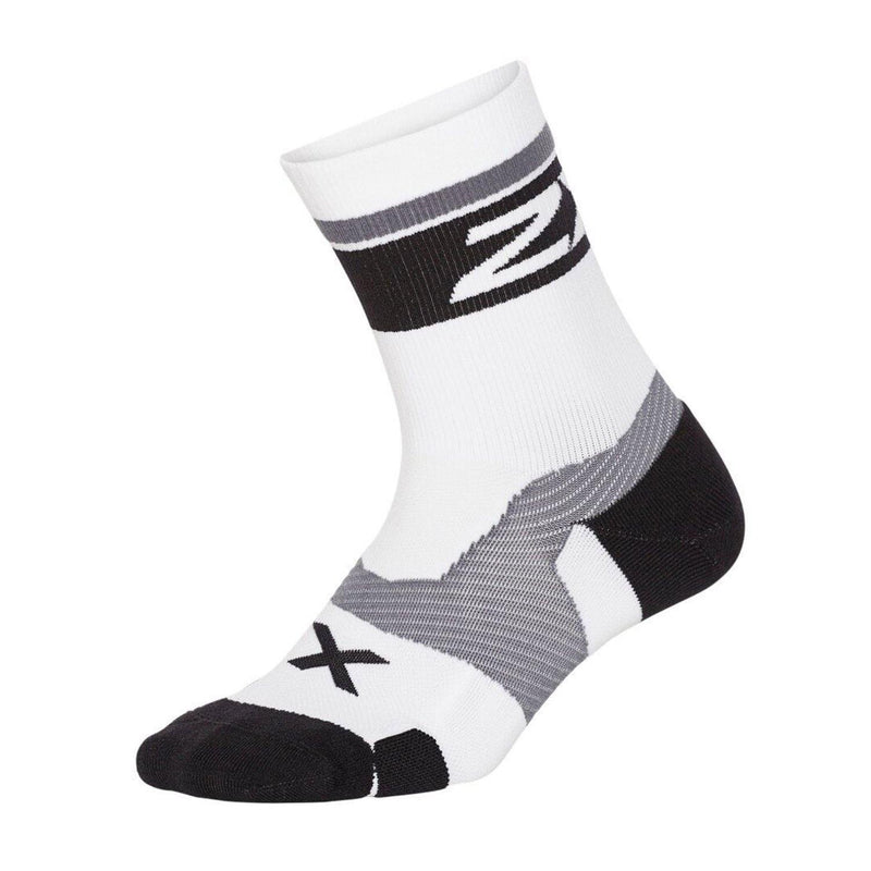 2XU Vectr Compression Cushion Crew Socks - Advanced Plantar Fascia