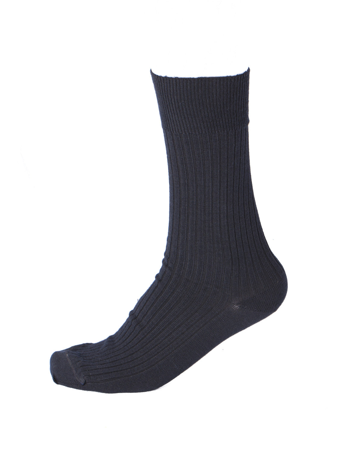 Pussyfoot Wool Non-Elastic Health Socks - Navy