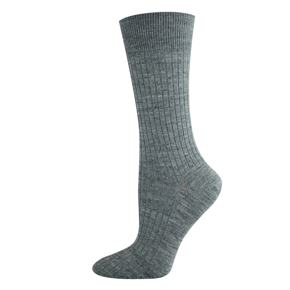 Pussyfoot Women's Non-Tight Merino Socks - Grey