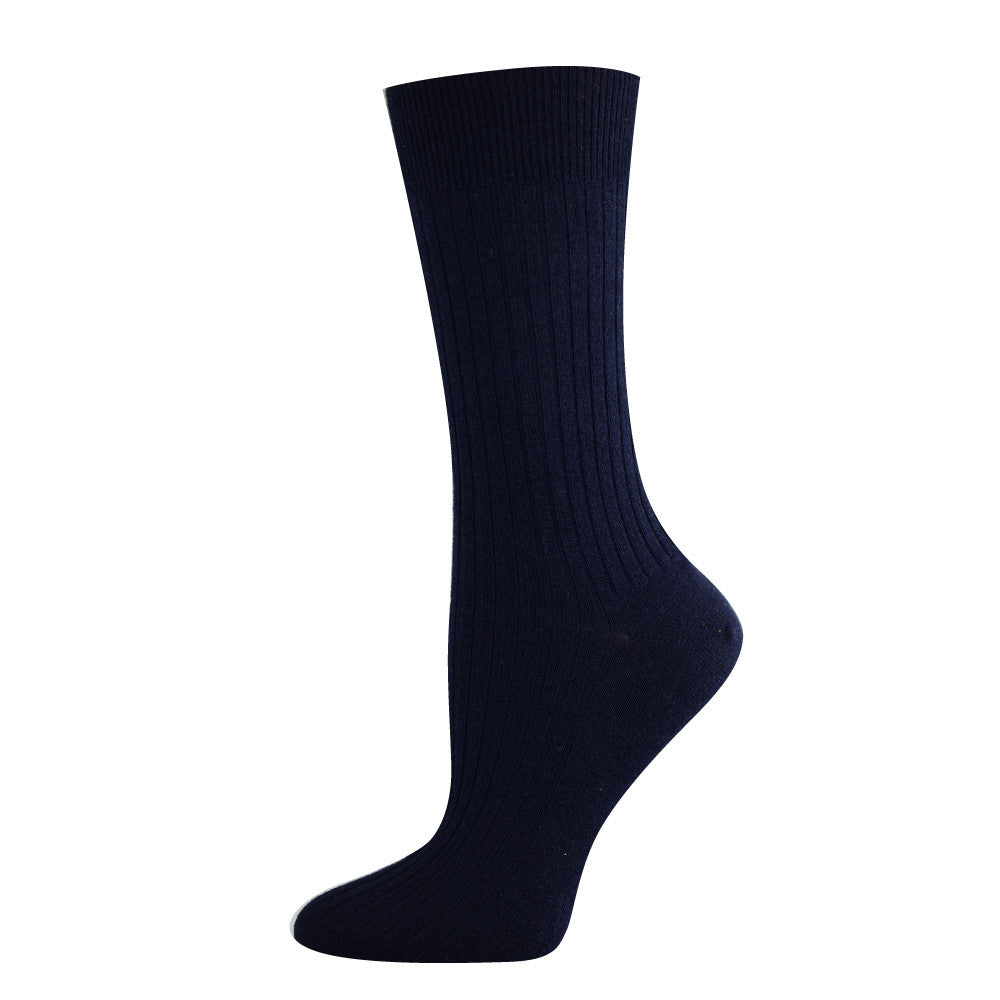 Pussyfoot Women's Non-Tight Merino Socks - Navy