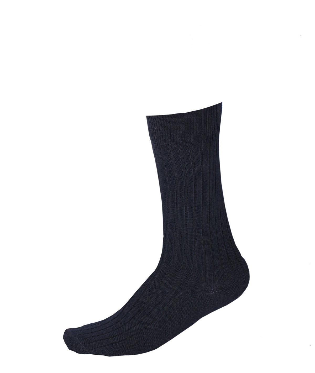 Pussyfoot Wool Crew Socks - Navy