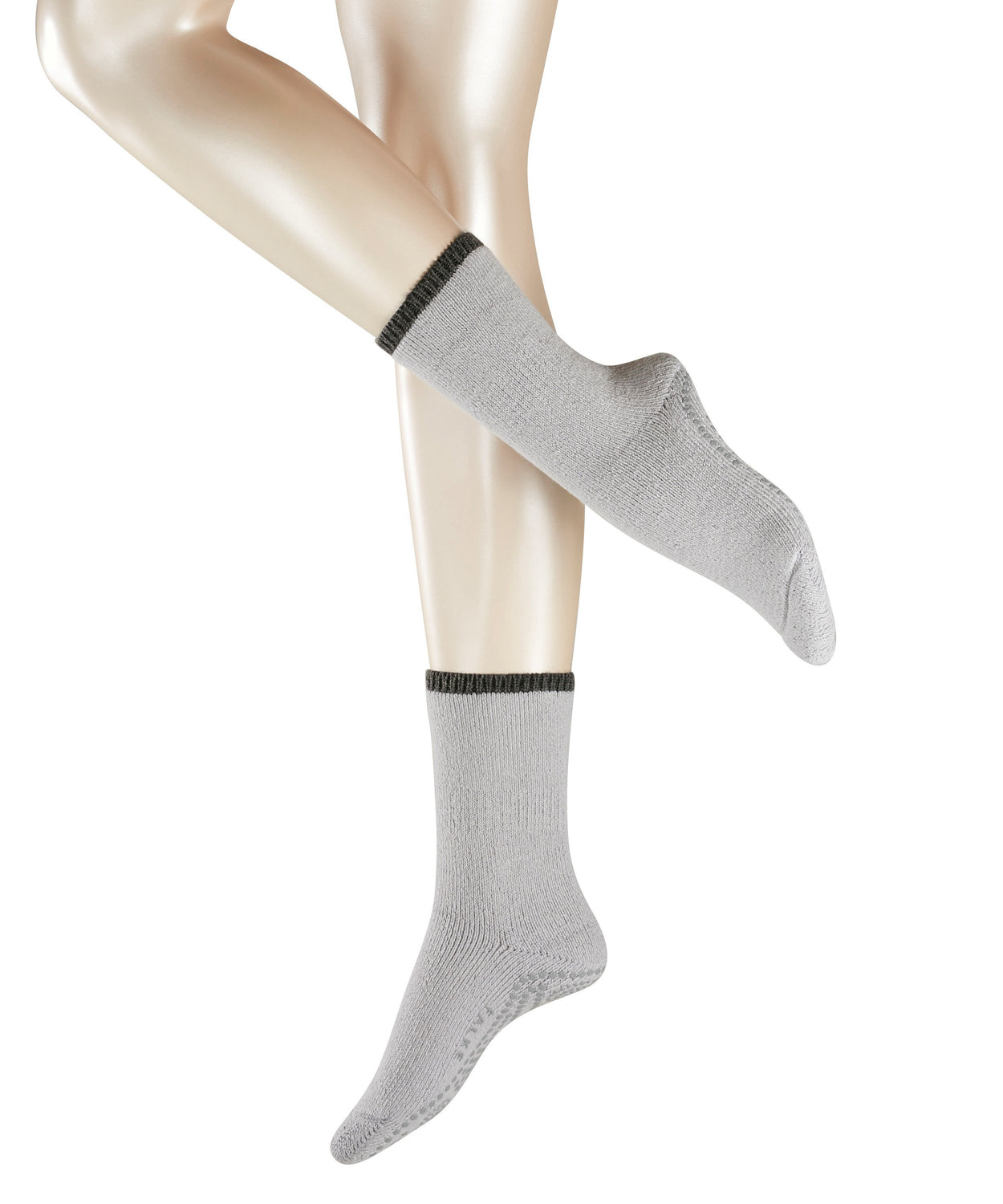 Falke Womens Slipper Socks - Silver
