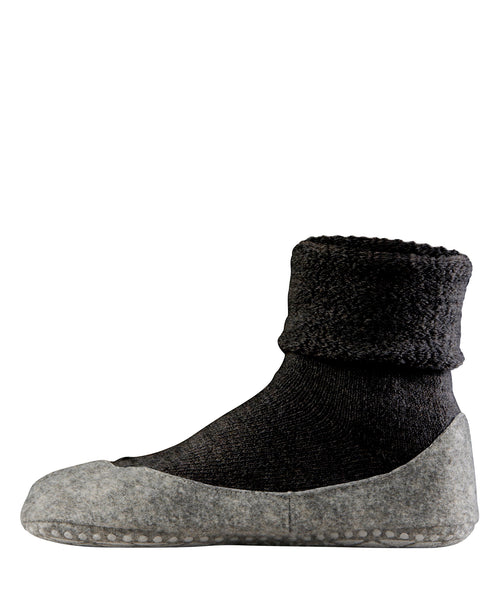 Falke Women's Cosyshoe Slipper Socks - Black