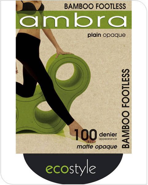 Ambra Bamboo Footless Tights