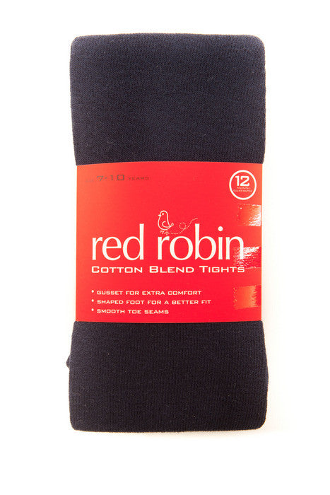 Red Robin Girl's School Tights Navy