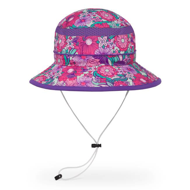 Kids Fun Bucket Hat - Flower Garden