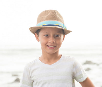 02dd876308f Kids Gecko Hat - Tan - socksforliving.com