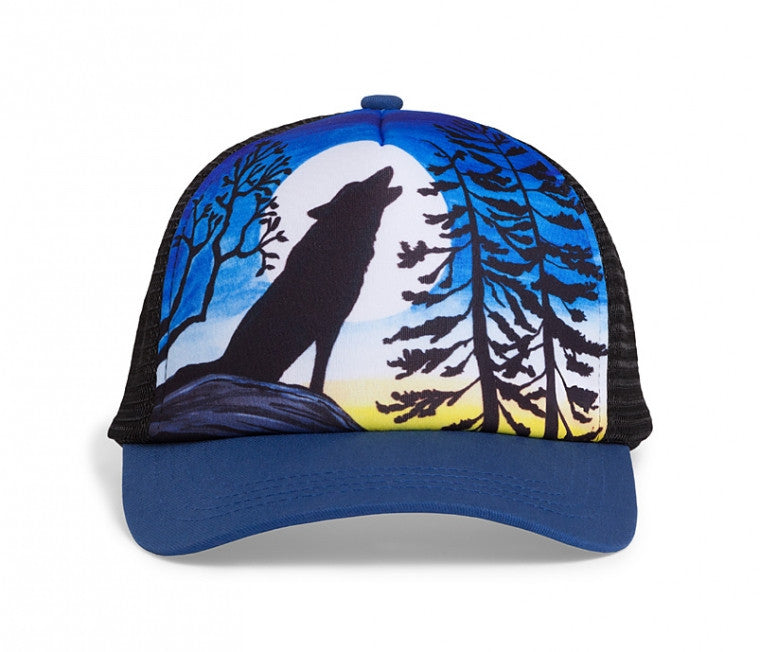 Kids Northwest Trucker Cap - Howling Moon