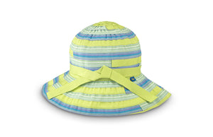 Kids Poppy Hat - Limeade