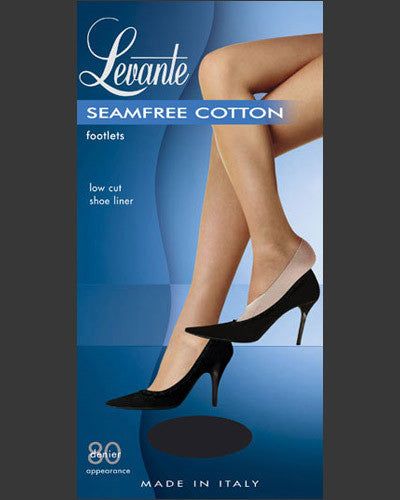 Levante Seamfree Cotton Footlet