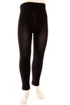 Ouch girl's footless tights black