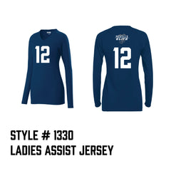 Pocatello Elite Ladies Assist Jersey Navy