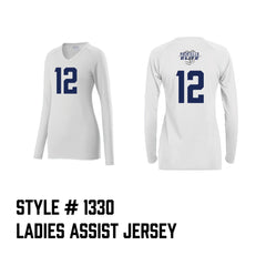 Pocatello Elite Ladies Assist Jersey White
