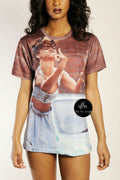 Rihanna Middle Fingers T-Shirt - Shoes From Last Night - 1