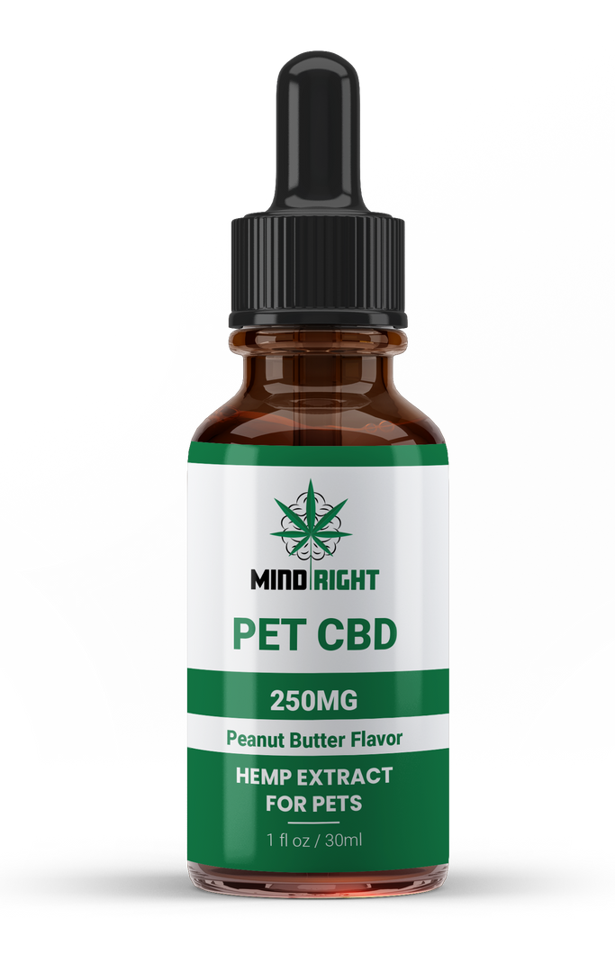 CBD Pet Oil - 250 MG