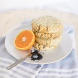 Photo of Orange Poppyseed Scones