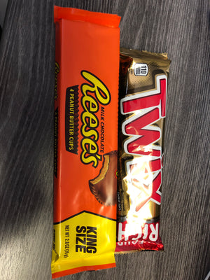 King size candy bars