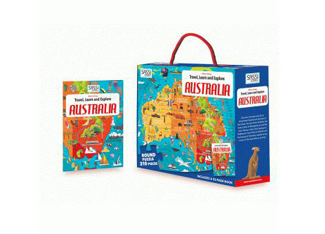 Australia Puzzle and Book Set - 205 pcs
