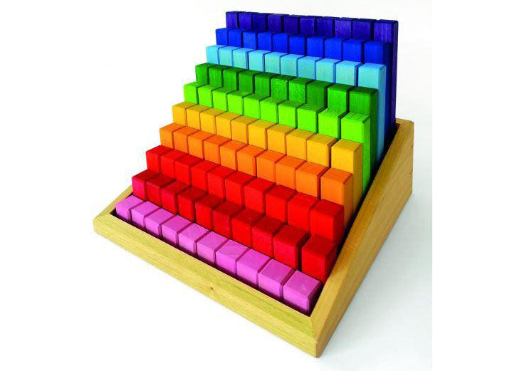 Bauspiel Stepped Blocks 100pcs