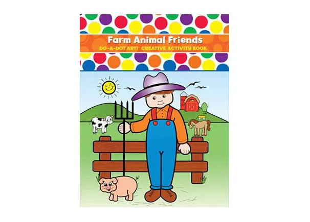 Do A Dot Book - Farm Animal Friend