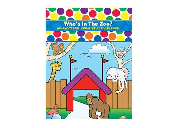 Do A Dot Book - Who's In The Zoo