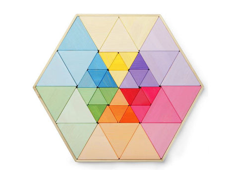 Large Triangle Puzzles