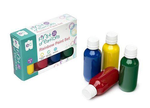 Rainbow Paint 100mL Set of 4