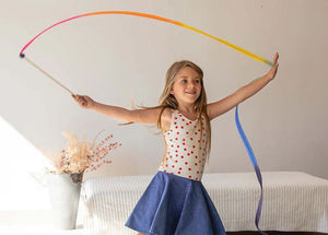 Sarah's Silks Streamers - Rainbow