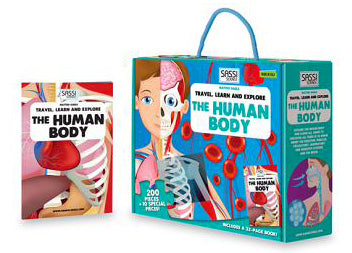The Human Body Puzzles and Books - 205 pcs