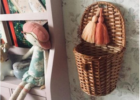Wicker Basket - Natural