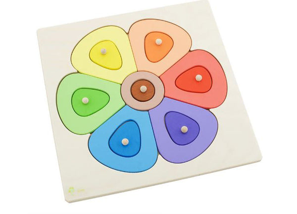 Wooden Puzzle Flower - Small