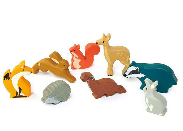 Woodland Animals Set (Without Stand)