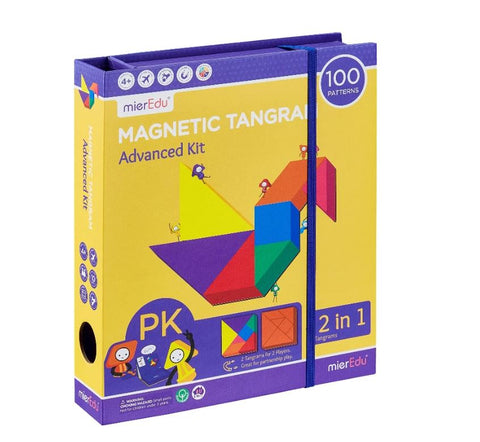 Magnetic Tangram - Advanced Kit