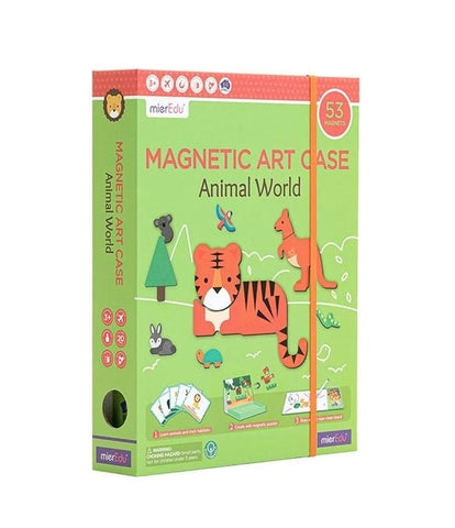 Magnetic Art Case - Animals