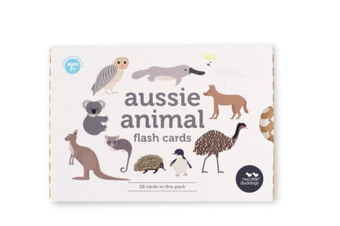 Aussie Animals Flash Cards