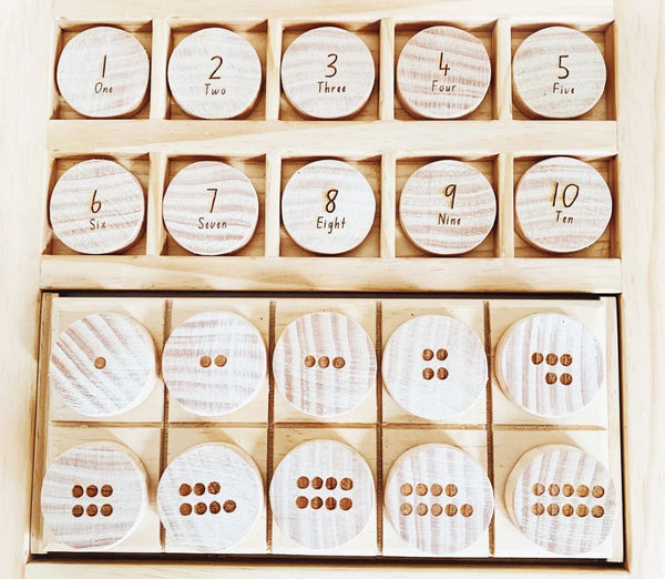 Counting Coins 1-10