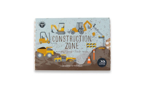 Construction Zone Snap and Memory Game
