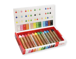 Kitpas Medium Stick Crayons (12 Colours)