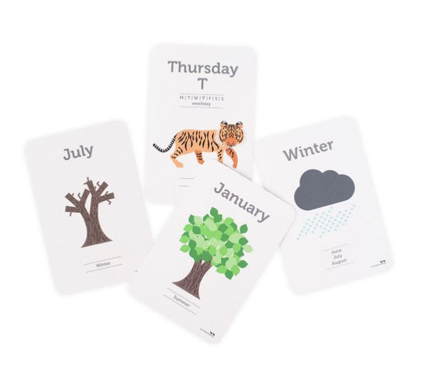 Days, Months and Seasons Flash Cards