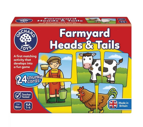 Orchard Game - Farmyard Head & Tails