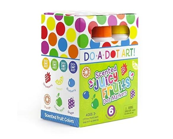 Do A Dot Art Juicy Fruit Markers 6 Pack