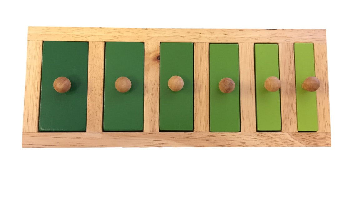 Narrow To Wide Knob Puzzle