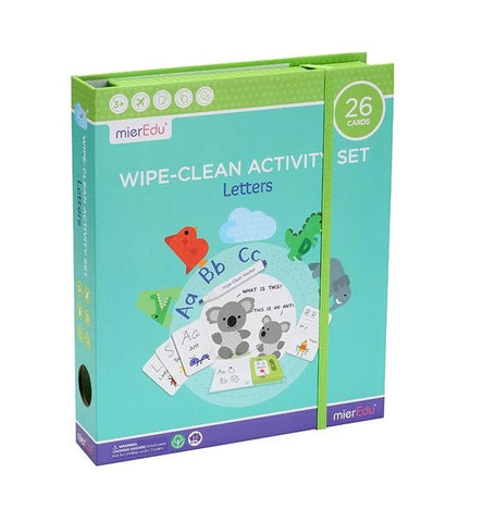 Wipe-Clean Letters Set