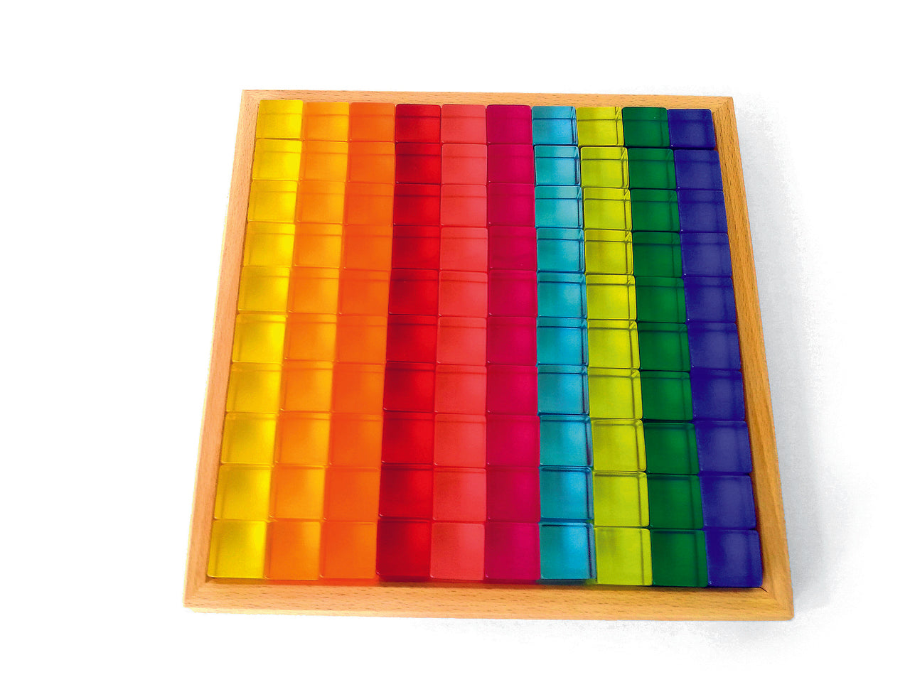 Bauspiel Acrylic Blocks 50pcs