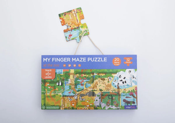 My Finger Maze Puzzle - Zoo
