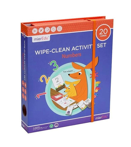 Wipe-Clean Numbers Set