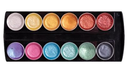 Primecolours Watercolours Pearlescent