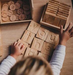 Wooden Spelling and Writing Tray (lowercase)