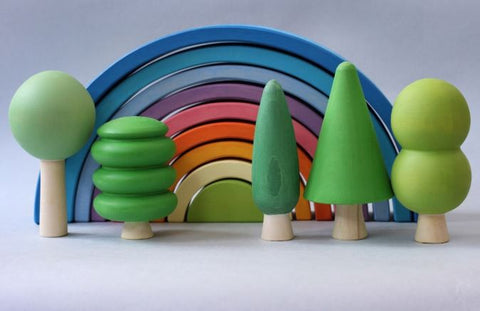 Skandico Green Trees Set