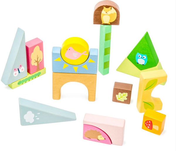 Petilou Woodlands Puzzle Blocks